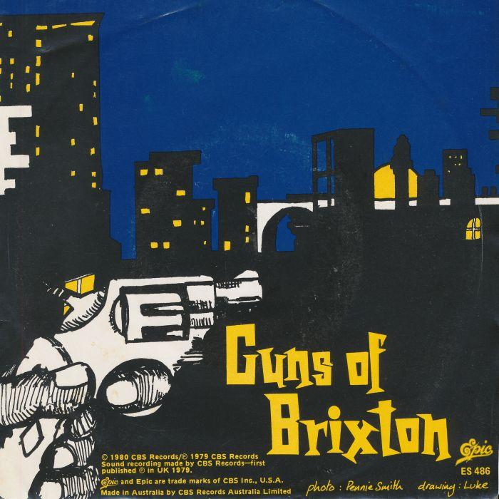 the clash the guns of brixton epic